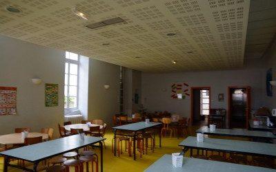 Les menus du restaurant scolaire