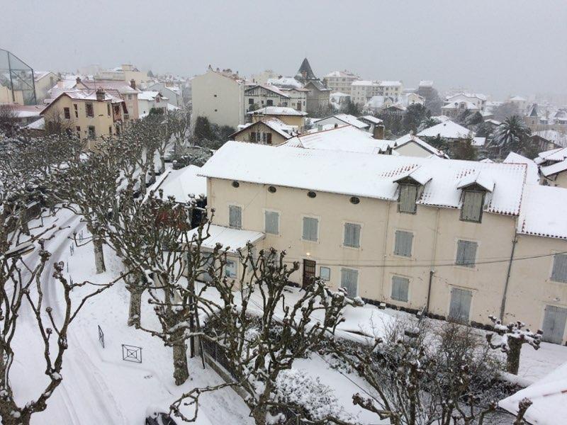 Notre école sous la neige !