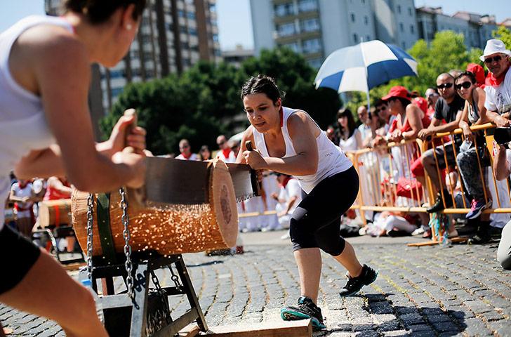 journée d' initiation aux sports basques