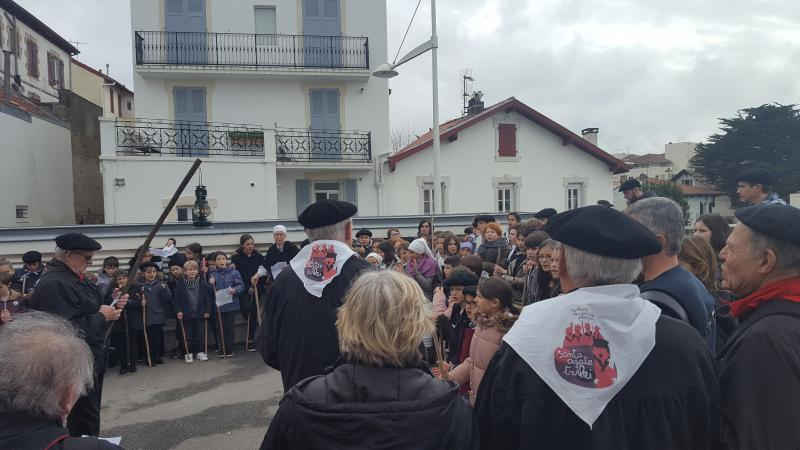 Zer da SANTA AGATE ?     C'est quoi la Sainte AGATHE à Biarritz ?